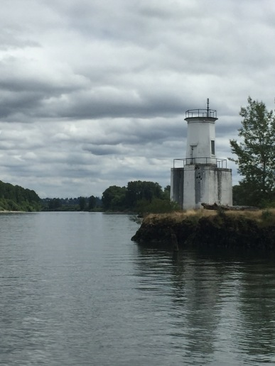The smallest lighthouse in Oregon