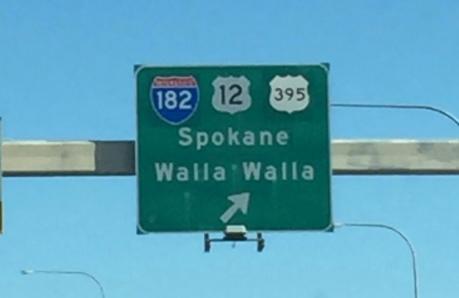 Spokane Traffic Sign
